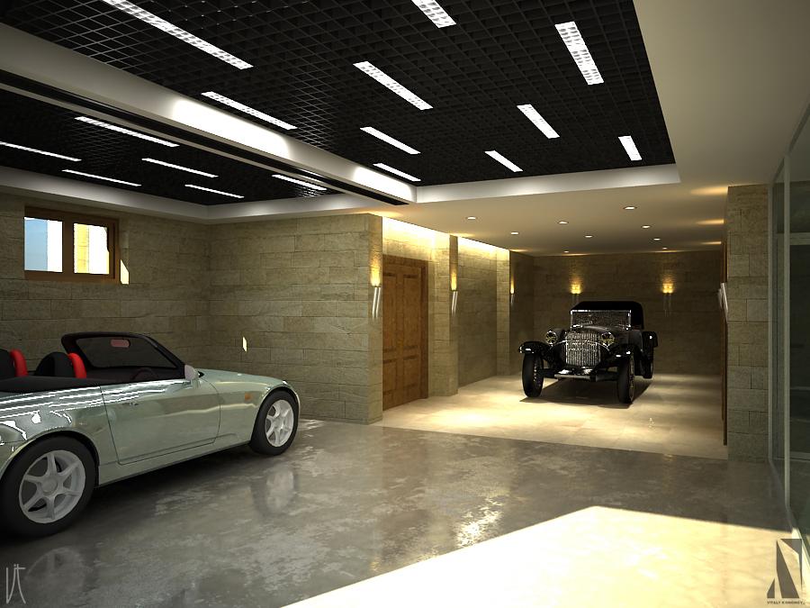 Подсветка в гараж 138